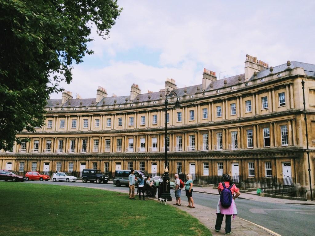 Royal Crescent, Bath UK