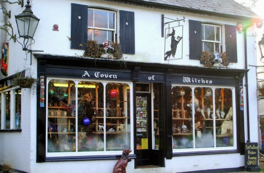 Burley Witch Shop: A Coven of Witches Shop, Burley Village