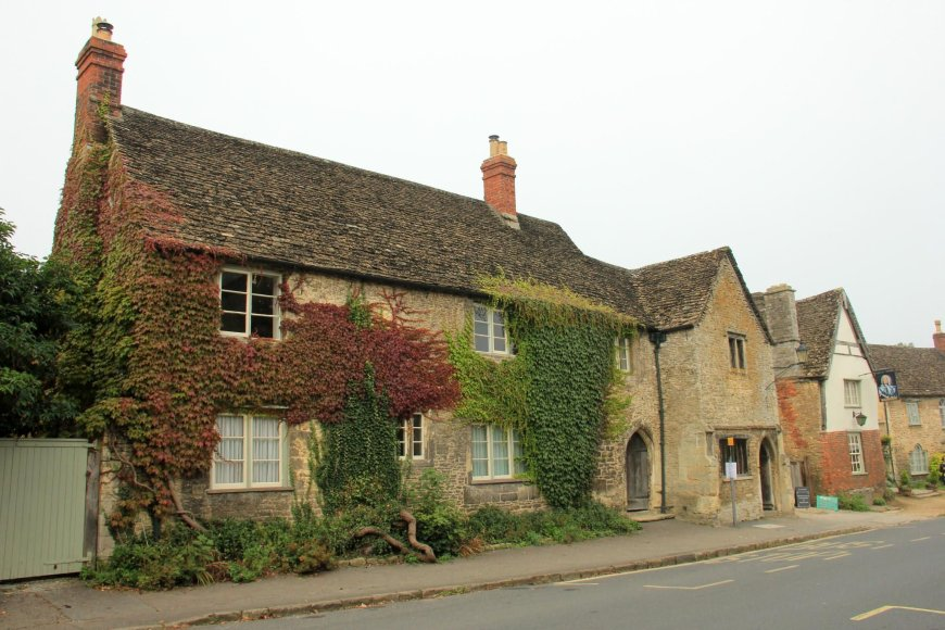 Houses in Lacock Village