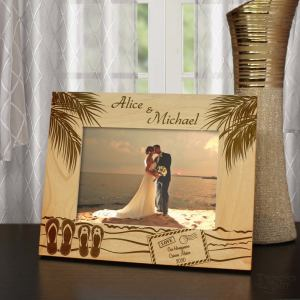 Personalised Travel Photo Frame