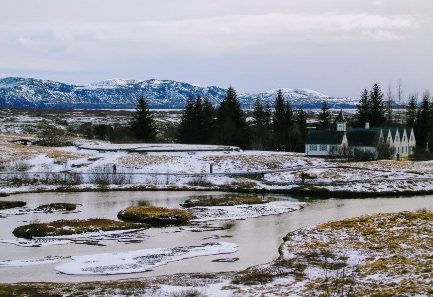 Views of Thingvellir National Park