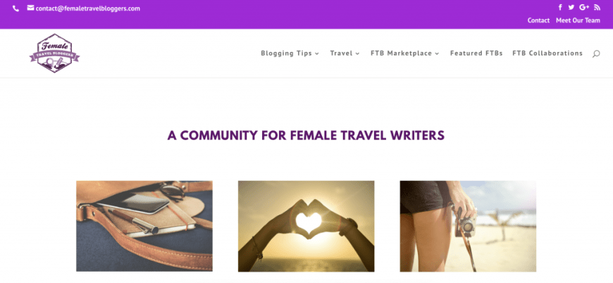 Female Travel Bloggers