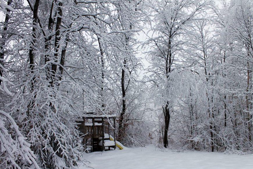 Snowy Vermont, USA
