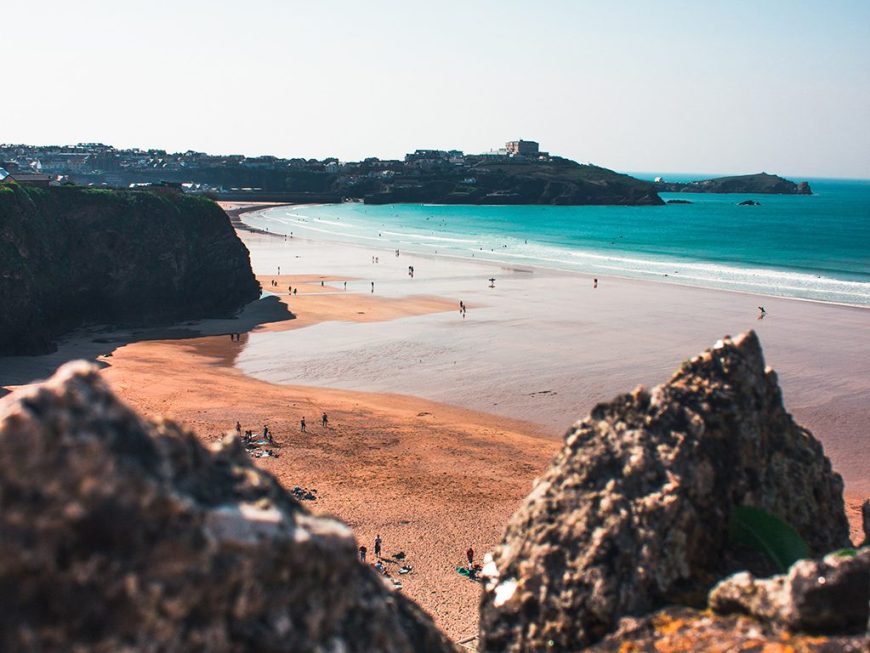 Things to do in Newquay: Head to the beach