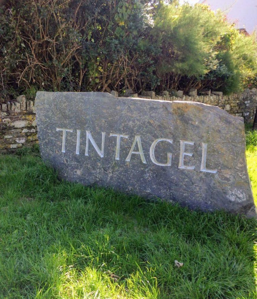 Tintagel Village Sign