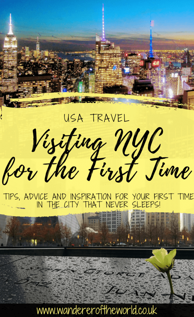 Visiting New York City for the First Time