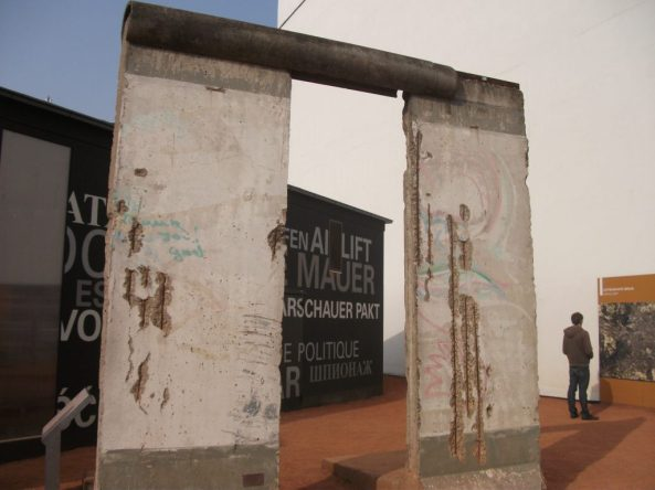 Berlin Wall fragments
