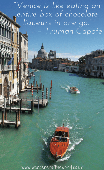 12 Quotes About Venice You'll Just Adore! (1)