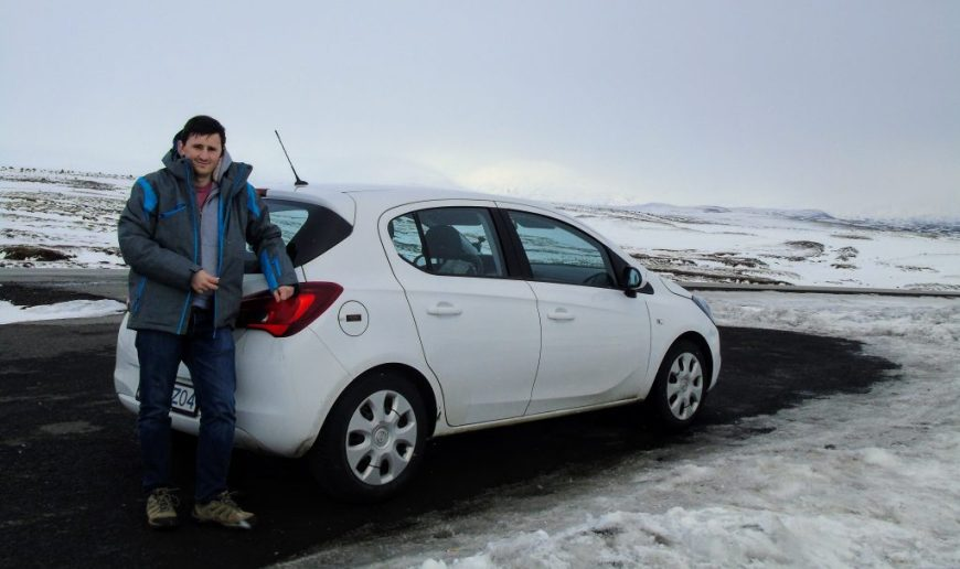Car hire in Iceland