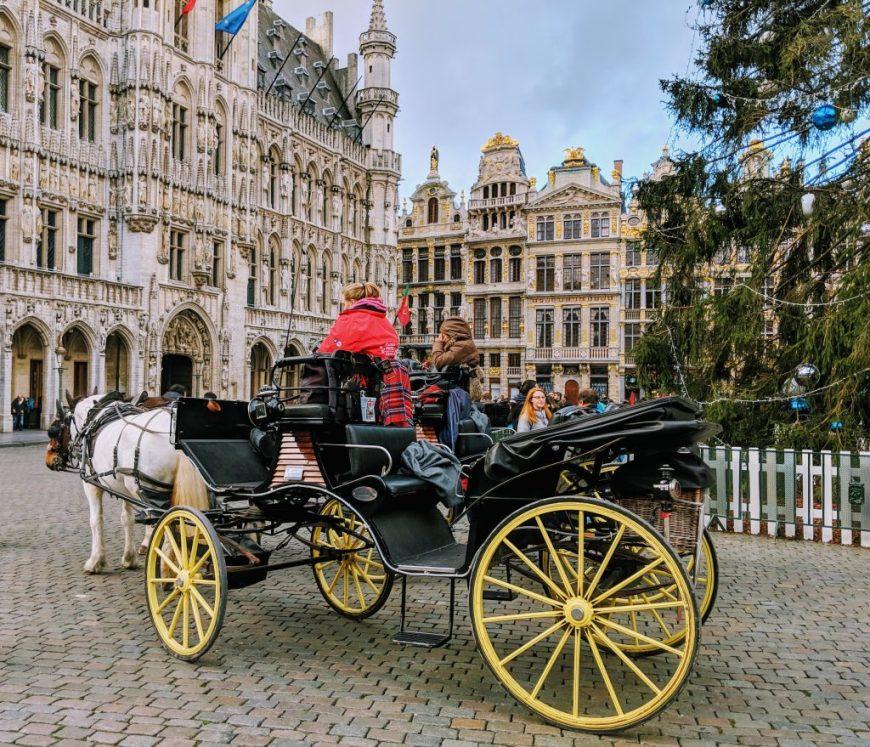 Belgium in Winter