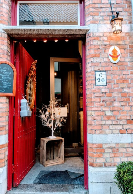 Chocolate Shop in Bruges