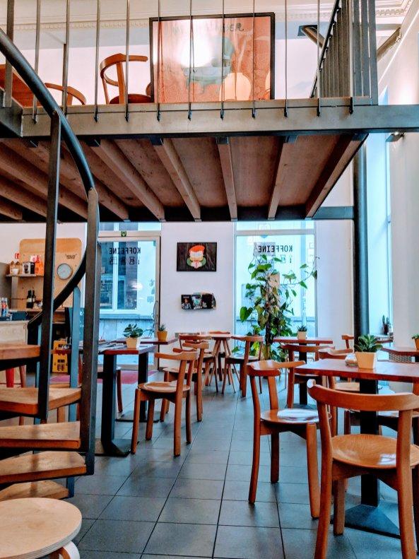 Koffeine Cafe in Ghent