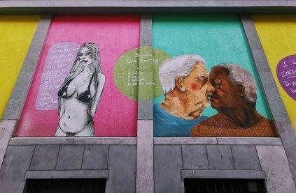 Brussels Street Art: LGBT Murals