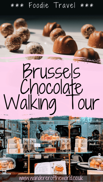 Self-Guided Chocolate Walking Tour in Brussels