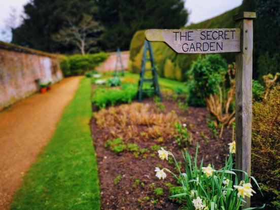 The Secret Garden at Highclere Castle