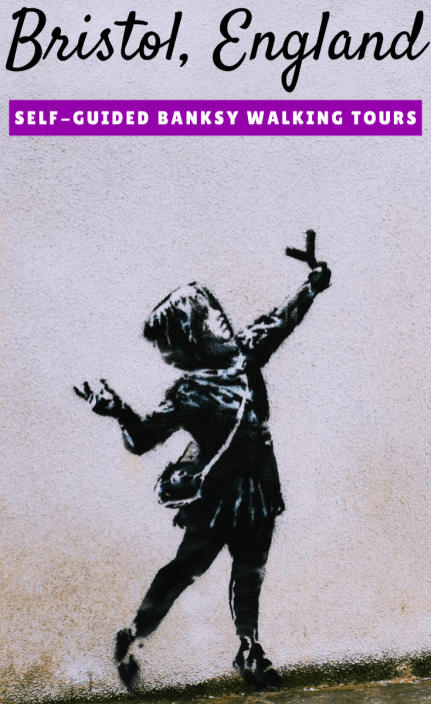 Banksy in Bristol: 3 Walking Tours (With Printable Maps!)