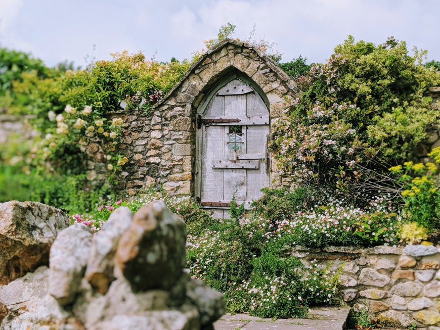 Burrow Farm Gardens, Devon