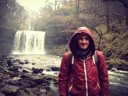 Scott at the Four Waterfalls Walk