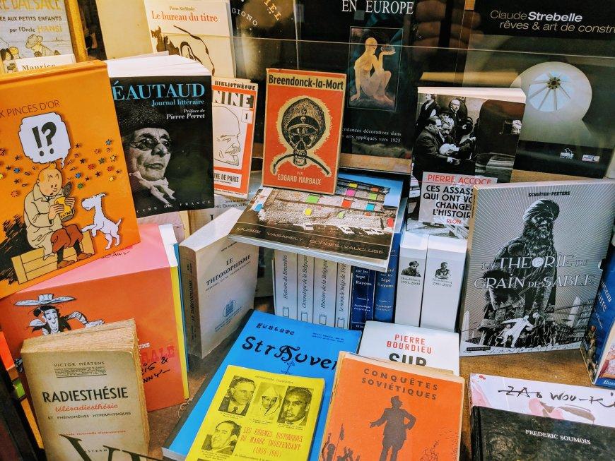 Souvenirs from Belgium: Belgian Comic Books