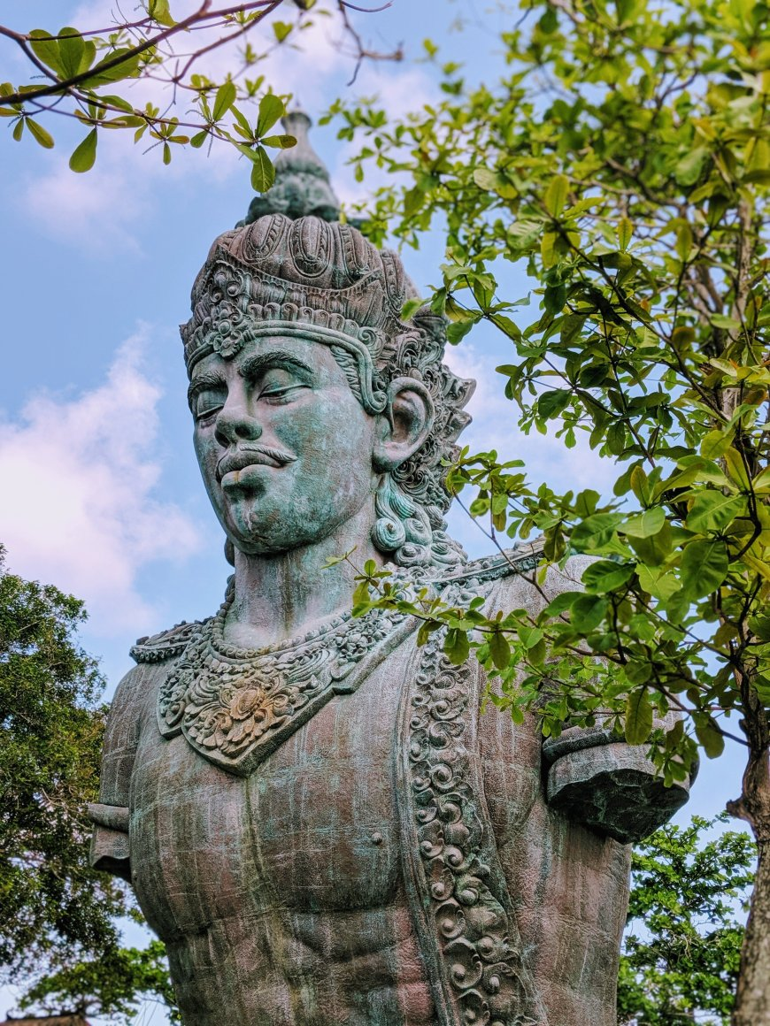 Wisnu statue, GWK Cultural Park