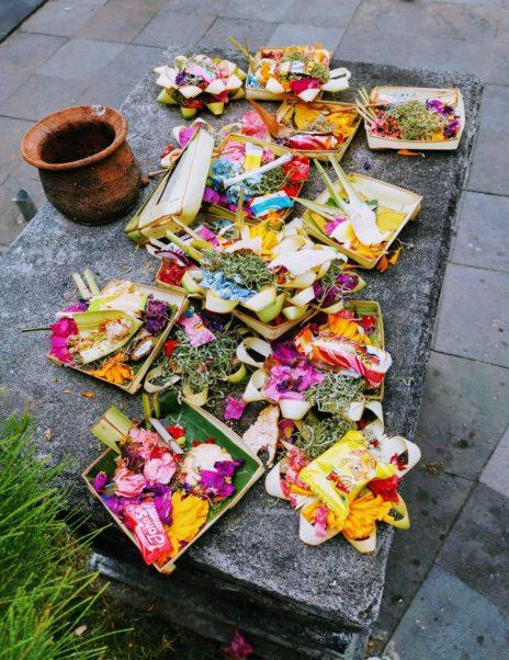 Canang Sari Balinese Offerings