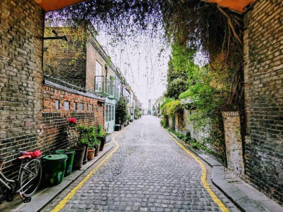 St Lukes Mews, London