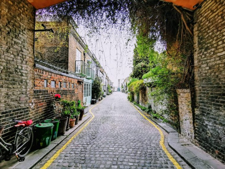 St Lukes Mews, London