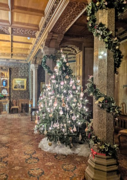 Tyntesfield Christmas Tree in the Dining Room