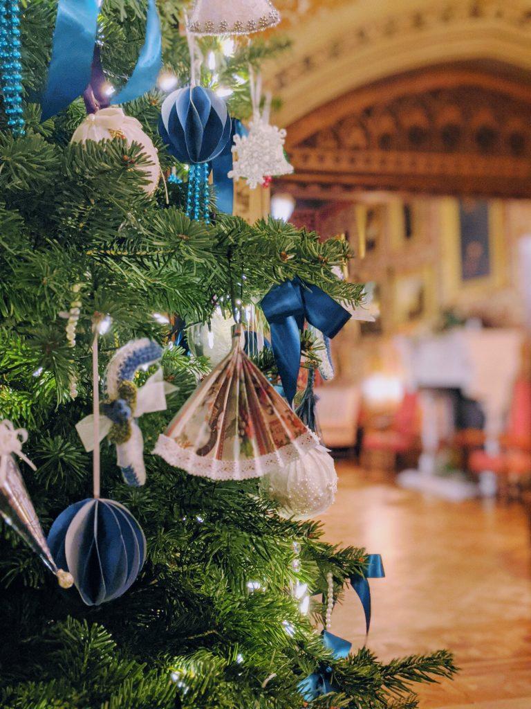 Victorian Christmas Decorations at Tyntesfield