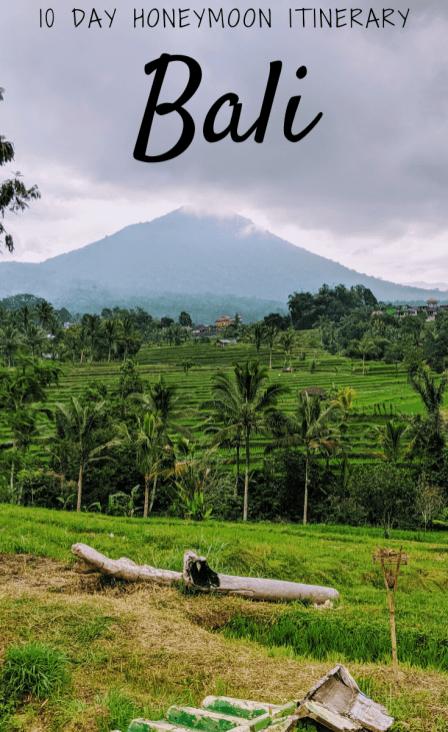 10 Day Bali Itinerary For Honeymooners