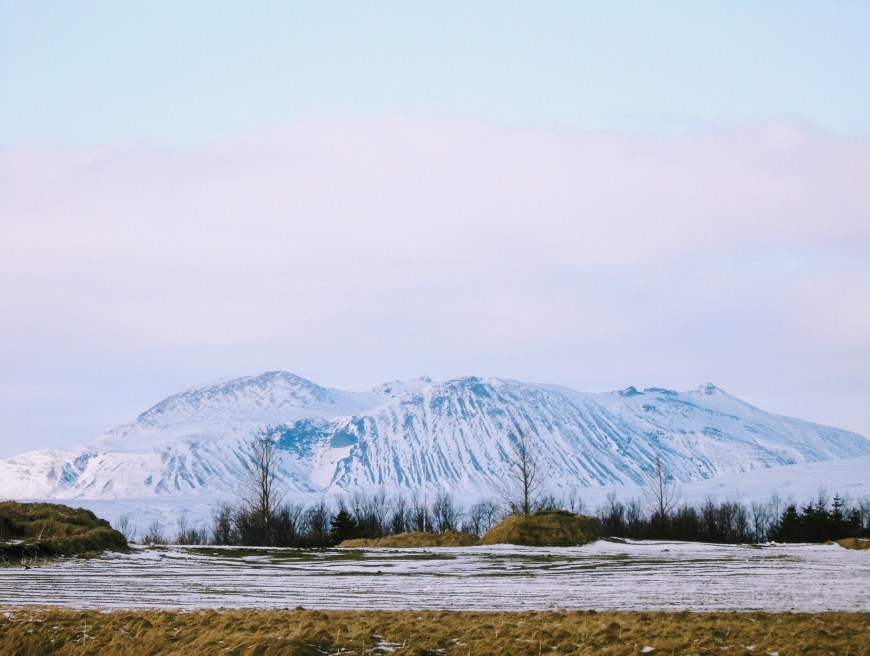 Iceland Mountains