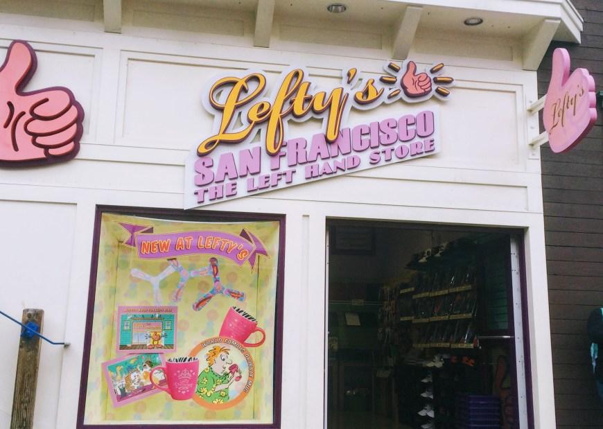 Lefty's Store, Pier 39, San Francisco