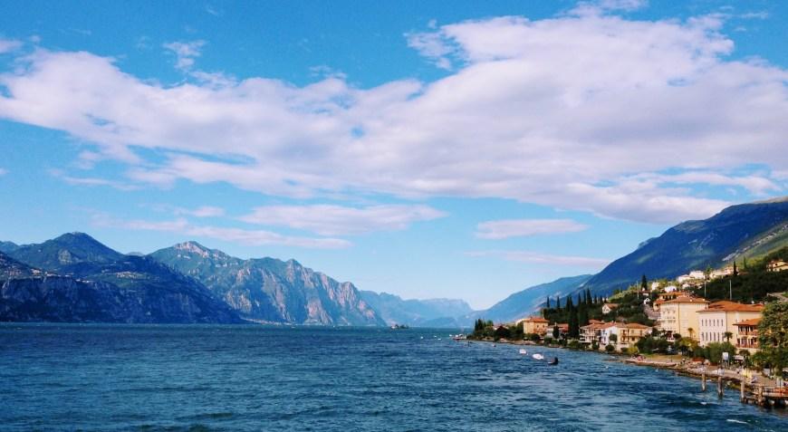 Views across Lake Garda