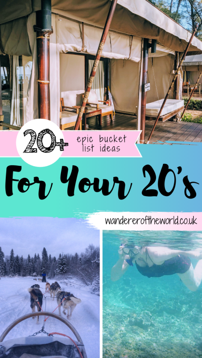 Bucket List Ideas For Your 20s