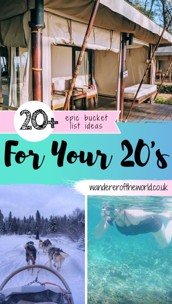 Bucket List Ideas For Your 20s