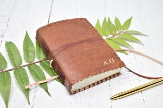 Leather Travel Journal Groomsmen Gift