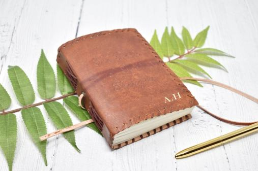 Leather Travel Journal Groomsmen Gift