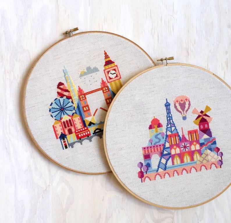 Travel Cross Stitch Pictures