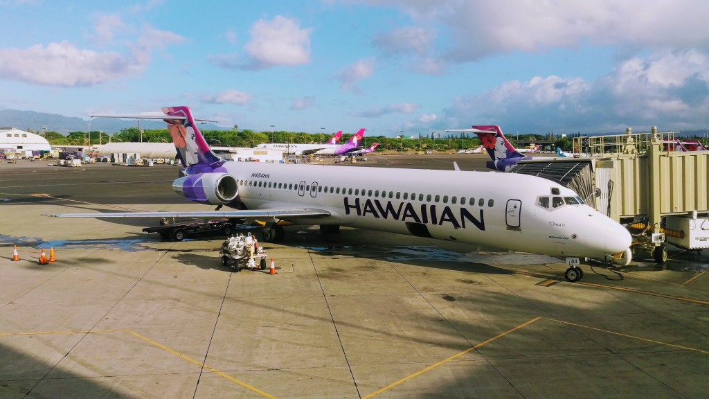 Hawaiian Airlines Flight To Hawaii