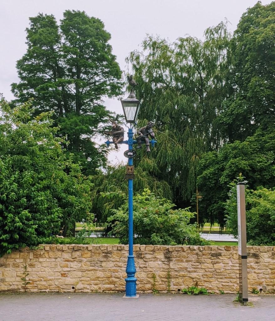 Lamp post in Stratford-upon-Avon