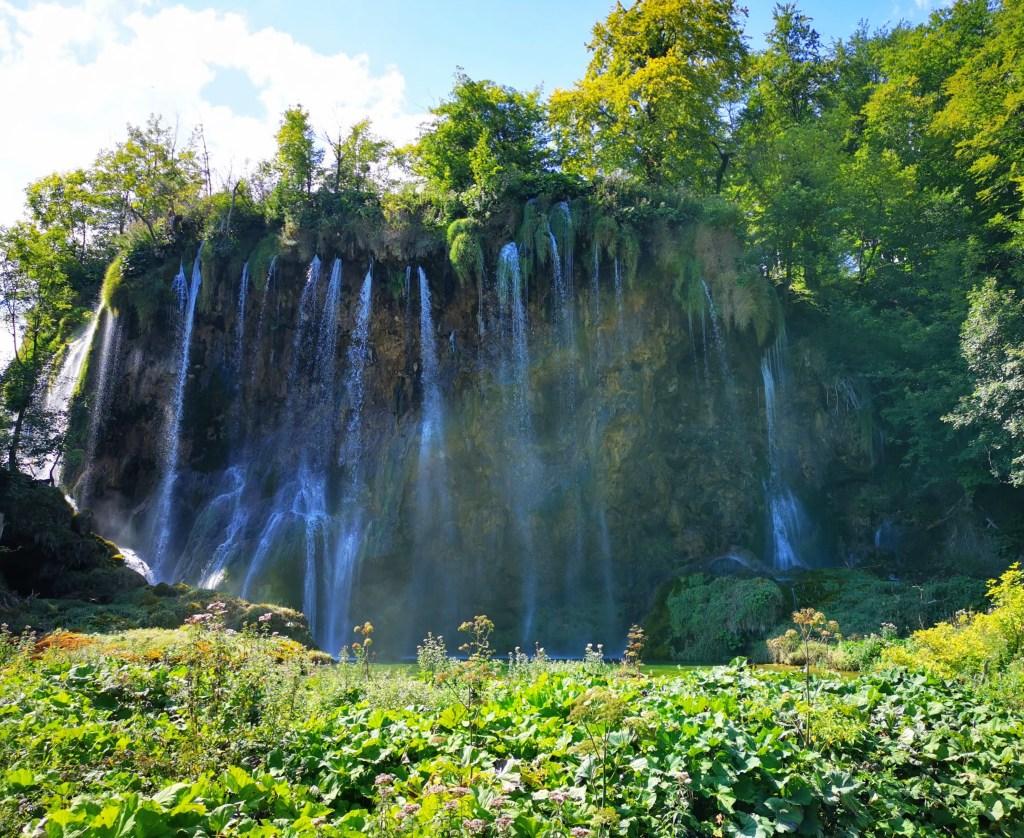 Veliki Prštavac in Plitvice Lakes, Croatia
