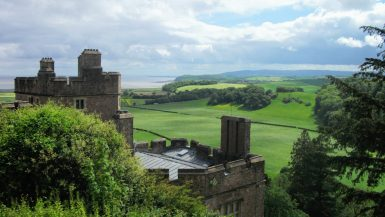 Views from Dunster Castle