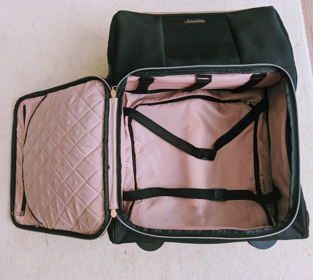 Inside the Travel Hack Pro Cabin Case