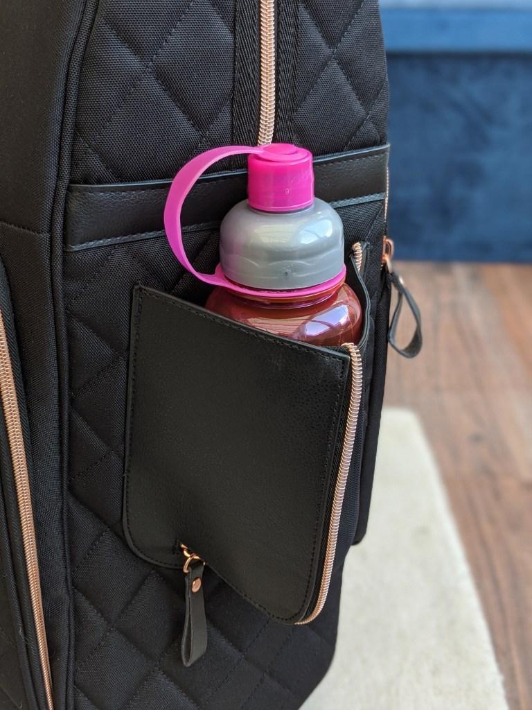 Travel Hack Pro Cabin Case - water bottle holder