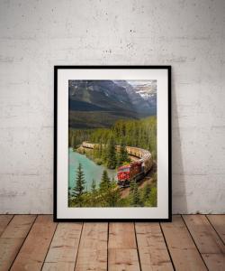 Travel photo print gift