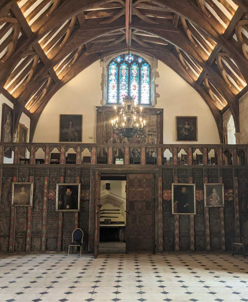 Inside Berkeley Castle