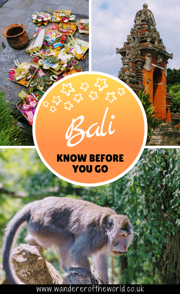 25 Things To Know Before Travelling To Bali For The First Time