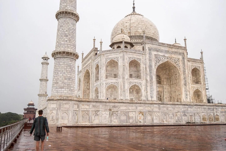 Wanderers & Warriors - Charlie & Lauren - Taj Mahal, Agra, India