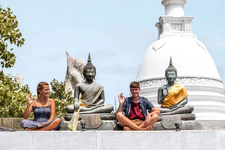 Wanderers & Warriors - Charlie & Lauren UK Travel Couple - Arriving In Sri Lanka Colombo