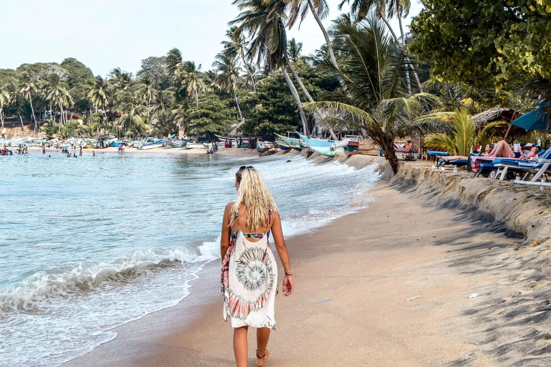 Wanderers & Warriors - Charlie & Lauren UK Travel Couple - Things To Do In Arugam Bay Sri Lanka - Arugam Bay Beach